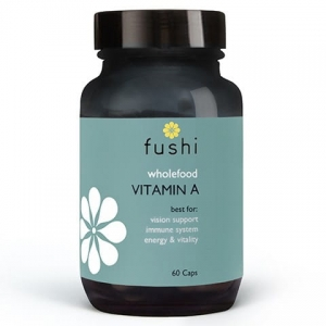 Fushi Whole Food Vitamin A - 60 kapsułek