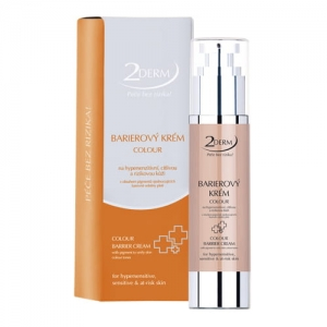 2DERM Krem barierowy COLOUR 50 ml