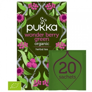 Pukka Wonder Berry Green BIO 20 saszetek