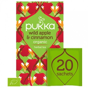 PUKKA Wild Apple & Cinnamon 20 saszetek