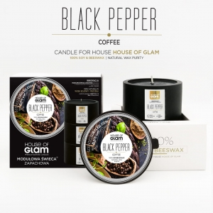 "HOUSE OF GLAM® ""Black Pepper&Coffe"""