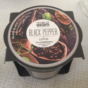 "HOUSE OF GLAM® ""Black Pepper&Coffe"" - GLASS BLACK COLLECTION"