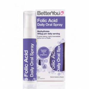 BetterYou Kwas Foliowy Spray 25ml
