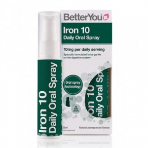 BetterYou Iron 10 - Żelazo w sprayu 25 ml
