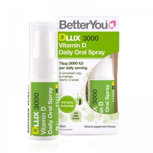 BetterYou DLUX 3000 Witamina D w sprayu 15ml