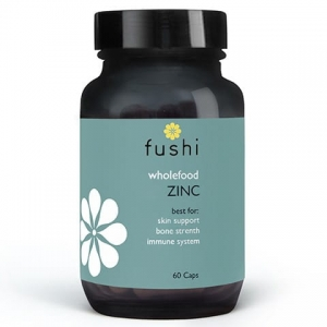 Fushi Whole Food Zinc 60 kapsułek