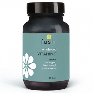 Fushi Whole Food Vitamin C - naturalna witamina C 60 kapsułek