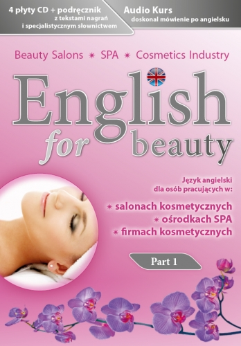 English for Beauty part 1 - front