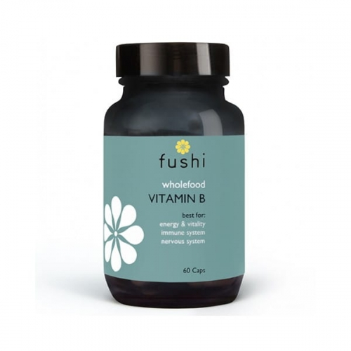 Fushi Whole Food Vitamin B Complex 60 kapsułek